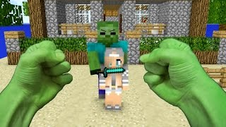 Download REALISTIC MINECRAFT ~ STEVE BECOMES HULK Video