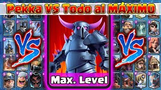 Download Pekka VS TODAS al MÁXIMO | 1 Vs 1 | Clash Royale Video