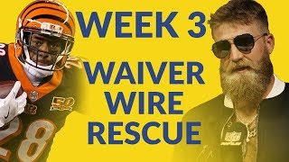 Download Get Your Fantasy Football Rescue From The Waiver Wire, Including Brown, Bernard, FitzMagic & More! Video