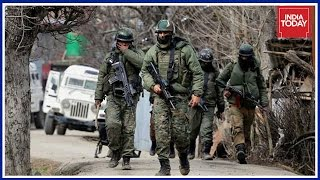 Download Clashes Between Security Forces & Protesters In Kulgam, J&K Video