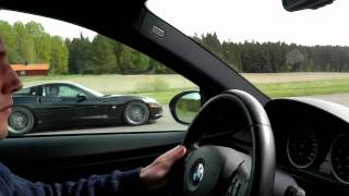 Download BMW M3 e92 VS. Corvette C6. Rolling start from 50km/h Video