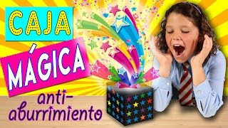 Download CAJA MÁGICA anti-aburrimiento * IDEAS para no aburrirse en CLASE Video