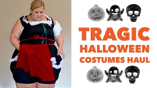 Download Tragic Plus Size Haul: Trying on Halloween Costumes I Ordered Online Video