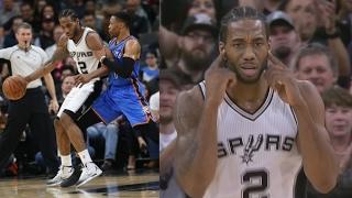 Download Russell Westbrook vs Kawhi Leonard! Kawhi Crosses Oladipo Thunder vs Spurs Video