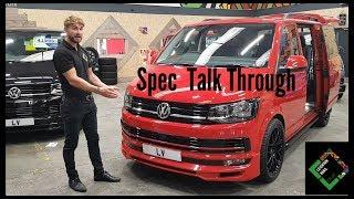 Download Cherry Red DSG T6 Volkswagen Transporter Spec Explanation! Leighton Vans Video