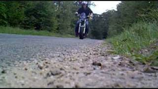 Download Honda Ape 200cc driving on top speed with 115 km/h Video