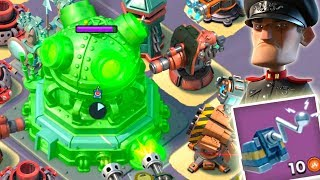 Download Boom Beach MEGA TURTLE Hack the HQ! Universal Remote the Core! (Stages 22-26) Video
