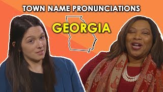 Download We Try to Pronounce Georgia Town Names Video