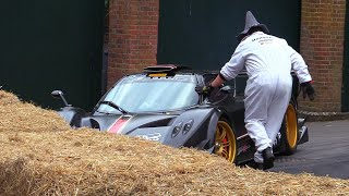 Download Pagani Zonda R CRASHED On The Most Strange Way EVER! Video