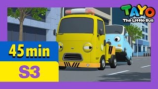 Download Tayo S3 Full Episodes EP9-12 l Gani the super star l Toto and Bongbong l Tayo the Little Bus Video