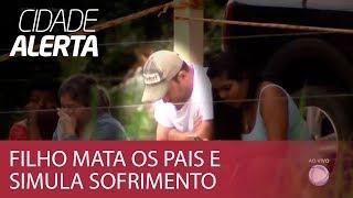 Download Filho mata os pais a tiros de espingarda e finge choro em velório Video