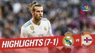 Download Resumen de Real Madrid vs RC Deportivo (7-1) Video