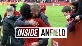 Download Inside Anfield: Liverpool 3-0 Southampton   Tunnel cam featuring Firmino, Salah and celebrations Video