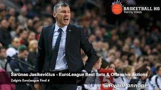 Download Šarūnas Jasikevičius Zalgiris EuroLeague Final 4 Best Sets & Actions Video