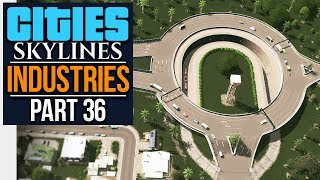 Download Cities: Skylines Industries | SUPER-DETAILED ROUNDABOUT (#36) Video