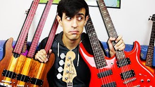 Download 25 BASS GUITARS, 1 SOLO Video