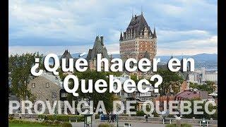 Download Qué hacer en Quebec - PROVINCIA DE QUEBEC Video