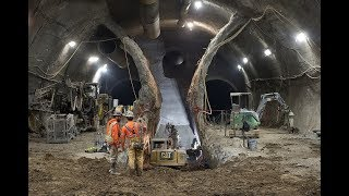 Download SFMTA Central Subway Tour - Chinatown Station Excavation Complete Video