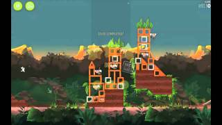 Download Angry Birds Rio: 3 Star Walkthrough Levels 3-9 to 3-15 Video