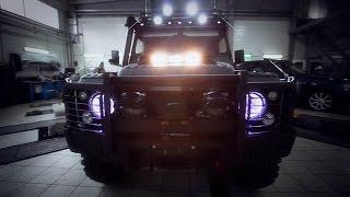 Download Land Rover Defender Video