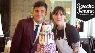 Download Behind The Scenes Making Tom Daley's Wedding Cake! | Cupcake Jemma Video