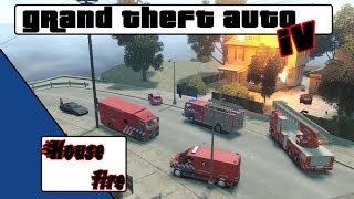 Download GTA 4 Responding to a House fire [NL] Video
