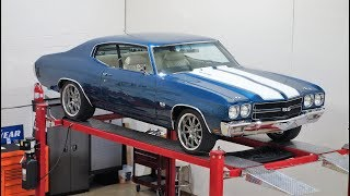 Download 1970 Chevelle SS 396 Pro Touring Resto Mod FOR SALE @ NationalMuscleCars #NationalMuscleCars Video