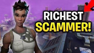 Download Insanely Rich Scammer Scams Himself! (Scammer Get Scammed) Fortnite Save The World Video