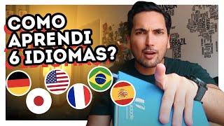 Download COMO APRENDI INGLÊS + 5 IDIOMAS RÁPIDO e SOZINHO? (7 SEGREDOS QUE VOCÊ PRECISA SABER) Video