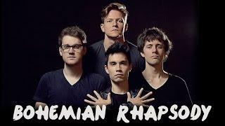 Download Bohemian Rhapsody - QUEEN - Alex Goot, Sam Tsui, KHS, Tyler Ward, Madilyn Bailey, Live Like Us COVER Video