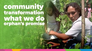 Download Community Transformation | What We Do | Orphan's Promise Video