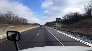 Download Bigrigtravels Live! Bloomington, Illinois to... Interstate 74 East Video
