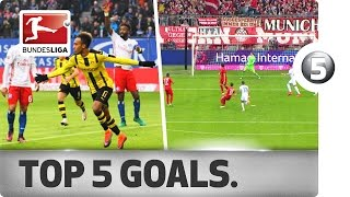 Download Top 5 Goals - Aubameyang, Calhanoglu and More with Incredible Strikes Video