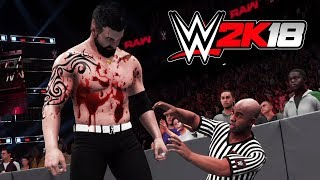 Download WWE BLOODIEST MATCHES EVER!! (WWE 2K18 My Career Mode, Episode 4) Video