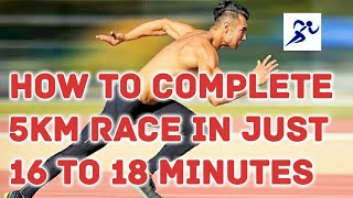Download How to complete 5 km race in 16 minutes Video