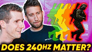 Download Does 240Hz Matter for Gaming ft. Gav from Slow Mo Guys Video