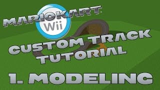 Download OUTDATED [NEW] Custom Track Tutorial for Mario Kart Wii Part 1 (Modeling) Video