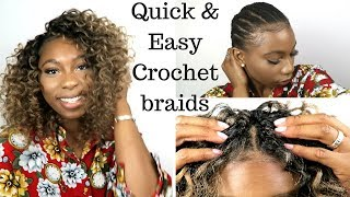 Download HOW TO DO QUICK & Easy Crochet Braids ( Invisible Part Method) Video
