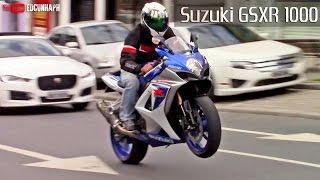 Download Suzuki GSXR 1000 Two Brothers 4x1 Exhaust - BIKERS GARAGE #07 Video