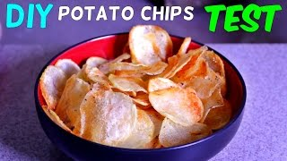 Download Homemade Potato Chips Test Video