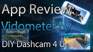 Download Review - VidoMeter DashCam App iOS Video