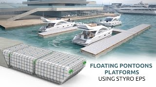 Download Styrofoam Lightweight Floating Pontoons- STYRO Video