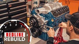 Download Ford 289 V-8 engine time-lapse rebuild (Fairlane, Mustang, GT350) | Redline Rebuild - S2E1 Video