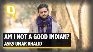 Download The Quint: Umar Khalid- Am I not a good Indian? Video