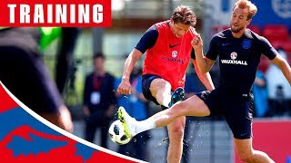 Download Pinpoint Finishing in England's First Training Session! | Inside Training | England Video