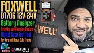 Download Foxwell BT705 Battery Analyzer Scan Tool 🚘 : LGTV Review Video