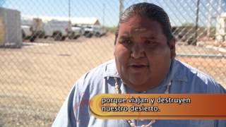 Download El Otro México: Tohono o Odham sobre su cadaver el muro Video
