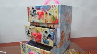 Download DIY- mini comoda de carton para bebe Video