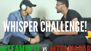Download WHISPER CHALLENGE (Sexual) Ft. Jay Dilla, Khaleel Ahmed, Karim Metwaly Video