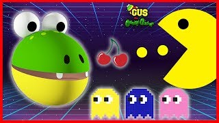 Download Let's Play Pac Man Vintage Game Giant Life Size Pac Man Gus Video